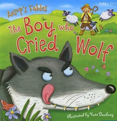 NEW Aesop's Fables the Boy Who Cried Wolf By Miles Kelly Paperback Free Shipping