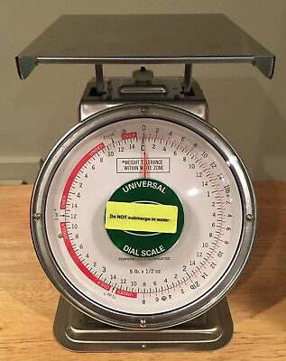 NEW 5LB x 1/2 LB Accu-Weigh Yamato Mechanical Dial Scale M-5 MSRP $299.99! NFS!