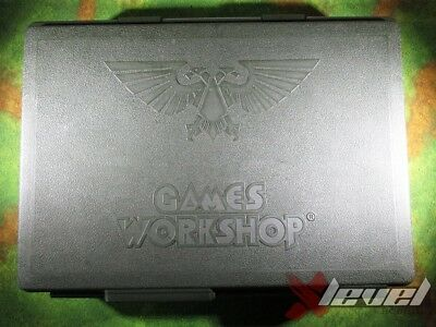 Large Games Workshop Figure Case [Green] [x1] [Figure Case] Poor