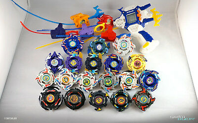 Beyblade Large Dragoon Set (Dragoon, Cyber, Gaia, Black) with Shooter DX