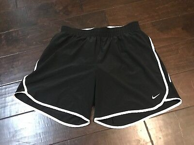 Nike Dri Fit Lined Athletic Workout Running Shorts - Size Medium