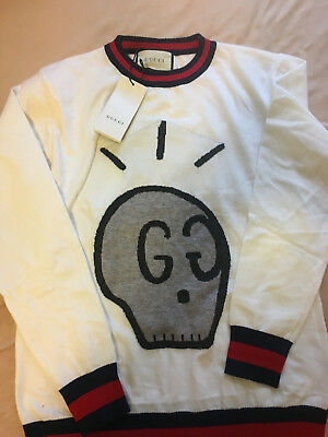 Gucci White Ghost Size S-XL