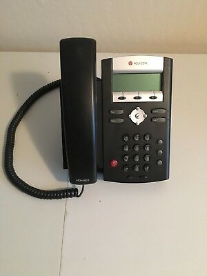 Polycom SoundPoint IP 335 VoIP Office Business Phone (2201-12375-001) TESTED