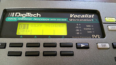DIGITECH Vocalist Workstation EX vocal harmony effects processor
