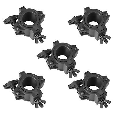 5 Pack Plastic O Clamps Truss Hook 33lb for Stage Light Pipe Dia 48mm 36mm 25mm