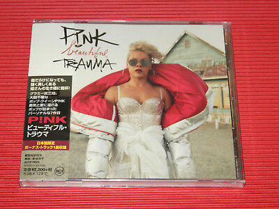 2017 JAPAN CD P!NK Pink Beautiful Trauma with Bonus Track for Japan  DIGI SLEEVE
