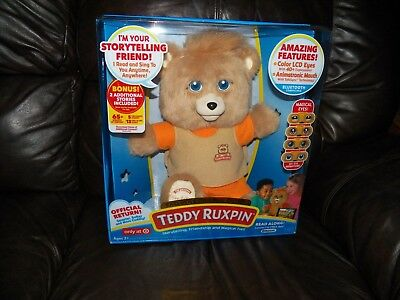 Teddy Ruxpin Bear 2017 Original Outfit Target Exclusive - BRAND NEW!