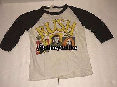 Vintage Rush Moving Pictures Concert T Shirt Tour Shirt 1981 Original Rare