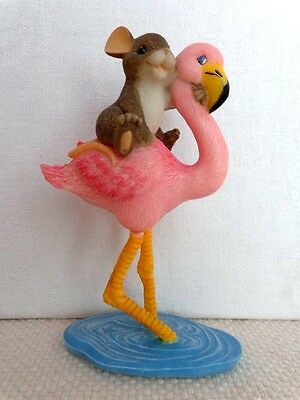 """Fitz & Floyd Charming Tails """"High And  Dry"""" Item : 82/112 - Limited. Edition"""