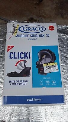 Graco SnugRide SnugLock 35 Infant Car Seat - Accel