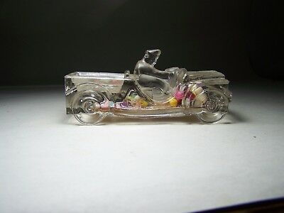Jeep Glass Candy Container ( Complete )