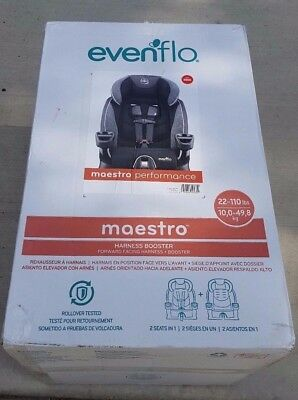 Evenflo Maestro Harness Booster Seat - Aspen skies