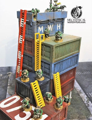 Select a height ladder  40k Necromunda Armageddon Infinity the game 28mm terrain