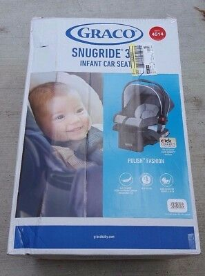 Graco Snugride 30 Click Connect Infant Car Seat - Polish