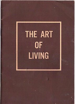 Vintage 1954 Booklet The Art of Living  by Norman Vincent Peale