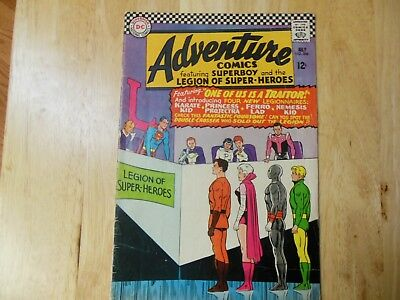 ADVENTURE COMICS 1966 #351 1ST APP WHITE WITCH with LEGION OF SUPERHEROES