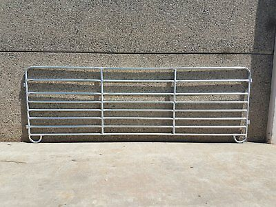 NEW Sheep Yard Panels 2.9m Long 1m High Locking Pins 8 x Rails Freight Available