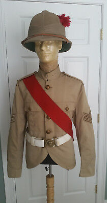 Black Watch Sergeant's Tropical Uniform Ensemble from the 1930s