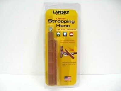 LANSKY Leather POLISHING Stropping Hone Sharpener Knife Sharpening! HSTROP