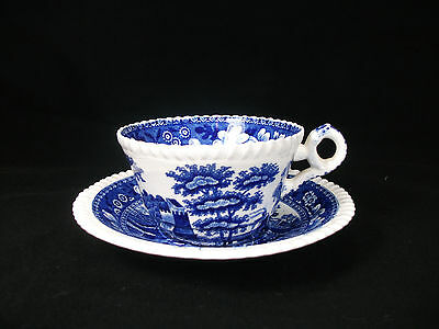 Vintage Copeland Spode's Tower Cup and Saucer MINT Very HTF Great Gift!