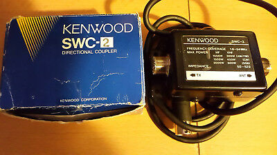 Kenwood swc 2 and 3 directional couplers for sw 2000 meter