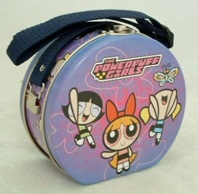 1 X The Powerpuff Girls Collectible 5-inch Tin Purse Lunchbox by Cartoon Network
