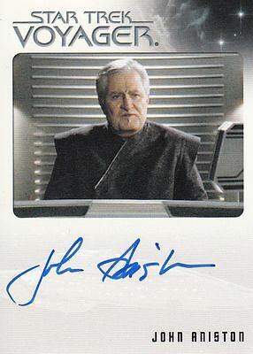 Star Trek Voyager Quotable 2012 John Aniston autograph