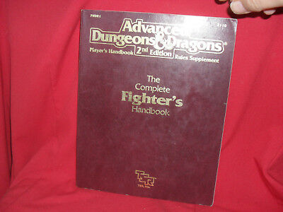 AD&D The Complete Fighter's Handbook Advanced Dungeons & Dragons PHBR1 2110