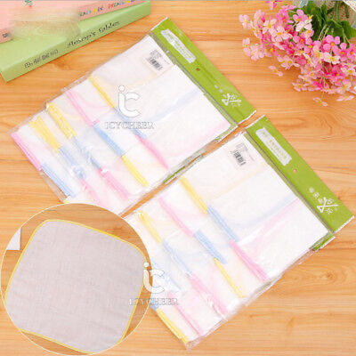 3pcs/lot 100% Cotton Newborn Baby Towel Nursing Washcloth Handkerchief 25*25cm