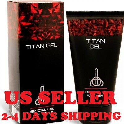 Titan gel Special gel for men GUARANTEED ORIGINAL US SELLER, 2-4 DAYS SHIPPING