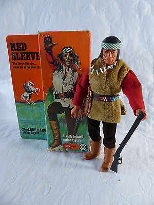 Marx / Gabriel Lone Ranger - Red Sleeves Apache Indian in Box
