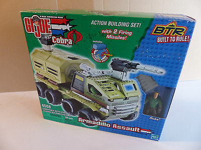GI Joe 6508 Armadillo Assault Vehicle + Figure aus   Lagerfund NOS 1987
