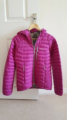 Rab Microlight Alpine jacket - womens size 10 **NEW**
