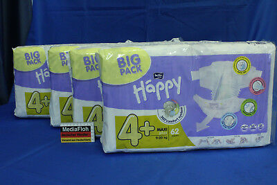 248x (0,20€/St) Bella Baby Happy Big Pack 4+ Maxi plus 9-20kg