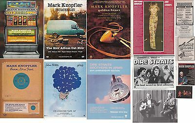 DIRE STRAITS : CUTTINGS COLLECTION -adverts-