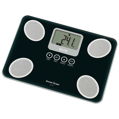 Tanita Innerscan Body Composition Monitor Weighing Scale Black Compact Light