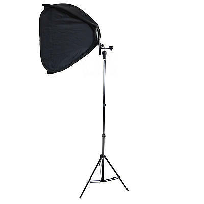 Caja de Luz Softbox Plegable SB1009 50x50 para Flash Camara con Trípode