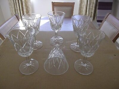 Sherry  GLASSES 6 excellent GLASSES