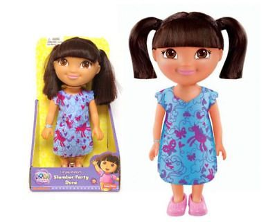 Lalka Dora Piżama Party 22 Cm - Fisher Price Doll Slumber Party Dora