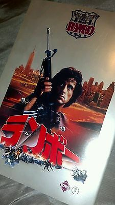 Rambo: First Blood - Movie Booklet - Sylvester Stallone - Japanese - 1982 - Rare