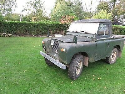 Land Rover Series 2a s.w.b 1962 tax exempt
