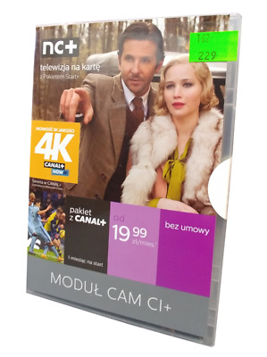 ! CAM CI+ module Cayman card with COMFORT + CANAL+ package for 12 months