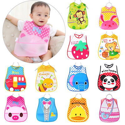 Toddler Baby Girl Kids Bibs Waterproof Saliva Towel Feeding Bandana