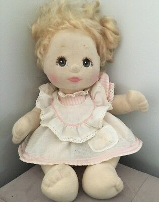 My Child Doll Blonde Hair Brown Eyes Original Outfit
