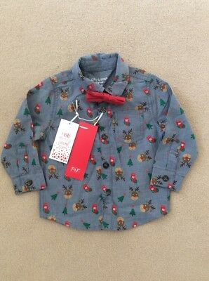 boys christmas shirt age 6-9 months Brand new with tags