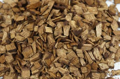 50L Wood Chip Coloured Garden Mulch Flower Bark Cork Wedding Decorative BROWN