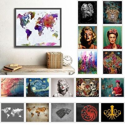 Fashion Art Canvas Print Wall Hanging Painting Picture Unframed Mural Home Decor