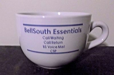 """Bell South Big Coffee Cup Not Used About 4"""" Tall And 16"""" Around Mouth Portion"""