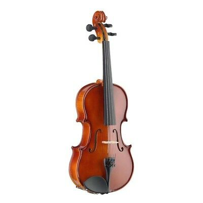 Stagg Violin, Solid Maple Wood, Handcrafted, Chinrest, Casa & Bow Included