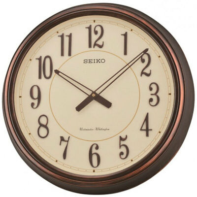 Seiko Wall Clock Westminster/Whittington Dual Chimes Home Décor 50.7 x 7.8cm